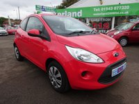 USED 2009 59 FORD KA 1.2 STYLE 3d 69 BHP £0 DEPOSIT FINANCE DEAL AVAILABLE...£30 A YEAR ROAD TAX....TEST DRIVE TODAY CALL 01543 877320