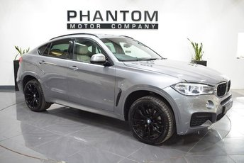 2015 BMW X6 3.0 XDRIVE30D M SPORT 4d 255 BHP £32990.00