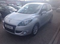 USED 2010 RENAULT SCENIC 1.5 PRIVILEGE TOMTOM DCI FAP 5d 109 BHP Diesel mpv, great economy, low road tax, sat/nav, superb.