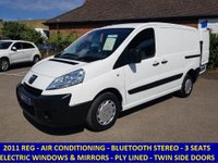 2011 PEUGEOT EXPERT PROFESSIONAL L1H1 WITH AIR CON & ELECTRIC PACK £5295.00