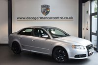 USED 2005 55 AUDI S4 4.2 S4 QUATTRO 4DR 339 BHP Full Service History  + FULL BLACK LEATHER INTERIOR + FULL SERVICE HISTORY + RECARO SPORT SEATS + S LINE EDITION + INDIVIDUAL CLIMATE CONTROL + HEATED MIRRORS + 18 INCH ALLOY WHEELS +