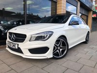 USED 2016 16 MERCEDES-BENZ CLA 2.1 CLA 220 D AMG LINE 4d AUTO 174 BHP