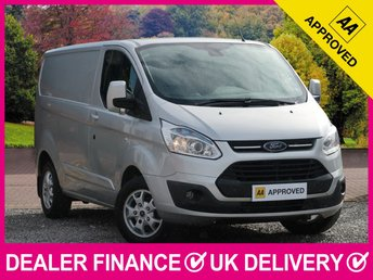 2015 FORD TRANSIT CUSTOM 2.2 TDCI LIMITED 125 290 SWB L1H1 PANEL VAN AIR CON £11950.00