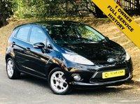 2011 FORD FIESTA 1.2 ZETEC 5d 81 BHP £5295.00