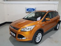 USED 2015 64 FORD KUGA 2.0 TITANIUM TDCI 5d AUTO 177 BHP 1 Owner / /Half Leather Seats / Cruise/ Apperance Pack