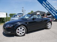 USED 2001 AUDI TT 1.8 ROADSTER QUATTRO 2d 221 BHP LOW MILES, SERVICE HISTORY, 2 KEYS AND EXCELLENT CONDITION