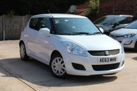 USED 2013 63 SUZUKI SWIFT 1.2 SZ2 5d 94 BHP * LOW MILEAGE * ONE OWNER FROM NEW *