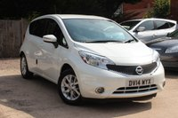 USED 2014 14 NISSAN NOTE 1.2 ACENTA PREMIUM 5d 80 BHP **** ONLY 11,000 MILES WITH SAT NAV AND £20 A YEAR ROAD TAX ****