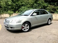 2006 TOYOTA AVENSIS 2.2 T3 X D-4D 5 DOOR, FULL BLACK LEATHER, ONLY 85,000 MILES £1990.00