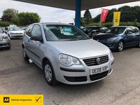 USED 2008 08 VOLKSWAGEN POLO 1.2 E 3d 68 BHP NEED FINANCE? WE CAN HELP!