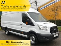 USED 2014 14 FORD TRANSIT 2.2 350e TDCi 125ps L4 H3 Lwb High Roof Jumbo Van Rwd Free UK Delivery