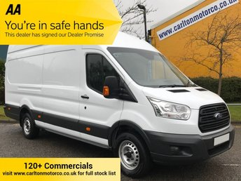 2014 FORD TRANSIT 2.2 350e TDCi 125ps L4 H3 Lwb High Roof Jumbo Van Rwd Free UK Delivery £9950.00