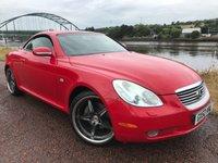 2002 LEXUS SC 4.3 430 2d 279 BHP £5990.00