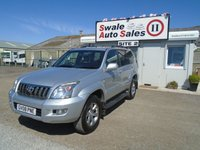 2008 TOYOTA LAND CRUISER 3.0 INVINCIBLE D-4D 8STR 5d AUTO 171 BHP £13395.00