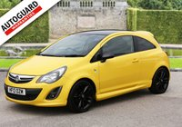 USED 2013 13 VAUXHALL CORSA 1.2 LIMITED EDITION 3d 83 BHP +++ FREE 6 months Autoguard Warranty included in screen price +++