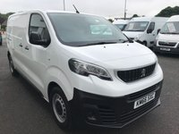 2016 PEUGEOT EXPERT 2.0 BLUE HDI PROFESSIONAL120 6-SPEED SWN £11995.00