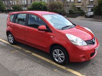 2010 NISSAN NOTE 1.4 ACENTA 5d 88 BHP £3500.00