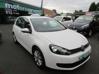 USED 2012 62 VOLKSWAGEN GOLF 1.4 MATCH TSI 5d 121 BHP **FULL SERVICE HISTORY** NO DEPOSIT DEALS 01543 379066