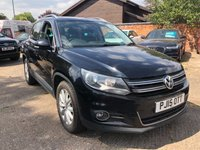 2015 VOLKSWAGEN TIGUAN 2.0 MATCH TDI BLUEMOTION TECHNOLOGY 5dr 139 BHP £8900.00