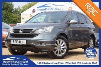2010 HONDA CR-V 2.0 I-VTEC EX 5d 148 BHP £9950.00