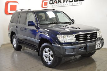 2001 TOYOTA LAND CRUISER AMAZON