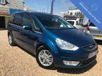 USED 2007 57 FORD GALAXY 1.8 GHIA TDCI 5d 125 BHP 7 Seats, FSH, 2 owners, bluetooth and parking sensors