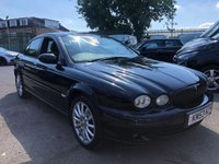 2003 JAGUAR X-TYPE 2.1 V6 SPORT 4d 157 BHP CATEGORY N - NO WARRANTY £SOLD