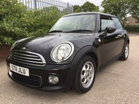 2011 MINI HATCH ONE 1.6 ONE 3d 98 BHP £4990.00