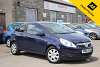 USED 2010 10 VAUXHALL CORSA 1.2 EXCLUSIV A/C 3d 83 BHP