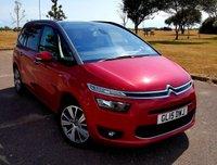 2015 CITROEN C4 GRAND PICASSO 1.6 E-HDI EXCLUSIVE PLUS ETG6 5d AUTO 113 BHP £13495.00