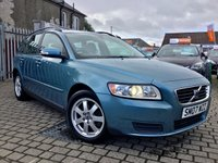 USED 2007 07 VOLVO V50 1.6 S 5d 100 BHP PRICE INCLUDES A 6 MONTH RAC WARRANTY, 1 YEARS MOT WITH 12 MONTHS FREE BREAKDOWN COVER