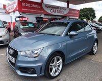 2011 AUDI A1 1.2 TFSI S LINE 3d 84 BHP £8995.00