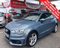 2011 AUDI A1 1.2 TFSI S LINE *ONLY 58,000 MILES* £8495.00