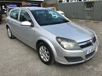 USED 2005 55 VAUXHALL ASTRA 1.6 CLUB 16V TWINPORT 5 DOOR AUTO 100 BHP IN SILVER WITH AN MOT UNTIL FEB 2019 APPROVED CARS ARE PLEASED TO OFFER THIS  VAUXHALL ASTRA 1.6 CLUB 16V TWINPORT 5 DOOR AUTO 100 BHP IN SILVER WITH AN MOT UNTIL FEBRUARY 2019 THAT DRIVES WELL IN GOOD CONDITION WITH A FULL SERVICE HISTORY INCLUDING A CAM BELT CHANGE IN 2017 BUT DUE TO ITS AGE AND MILEAGE IS BEING OFFERED AS A TRADE CLEARANCE CAR WITH MOT.