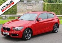 2013 BMW 1 SERIES 1.6 116I SPORT 3d AUTO 135 BHP £10995.00