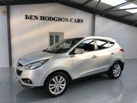 2012 HYUNDAI IX35 2.0 PREMIUM CRDI 4WD 5d 134 BHP £11995.00
