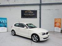 2011 BMW 1 SERIES 2.0 116I SPORT 3d 121 BHP £6876.00