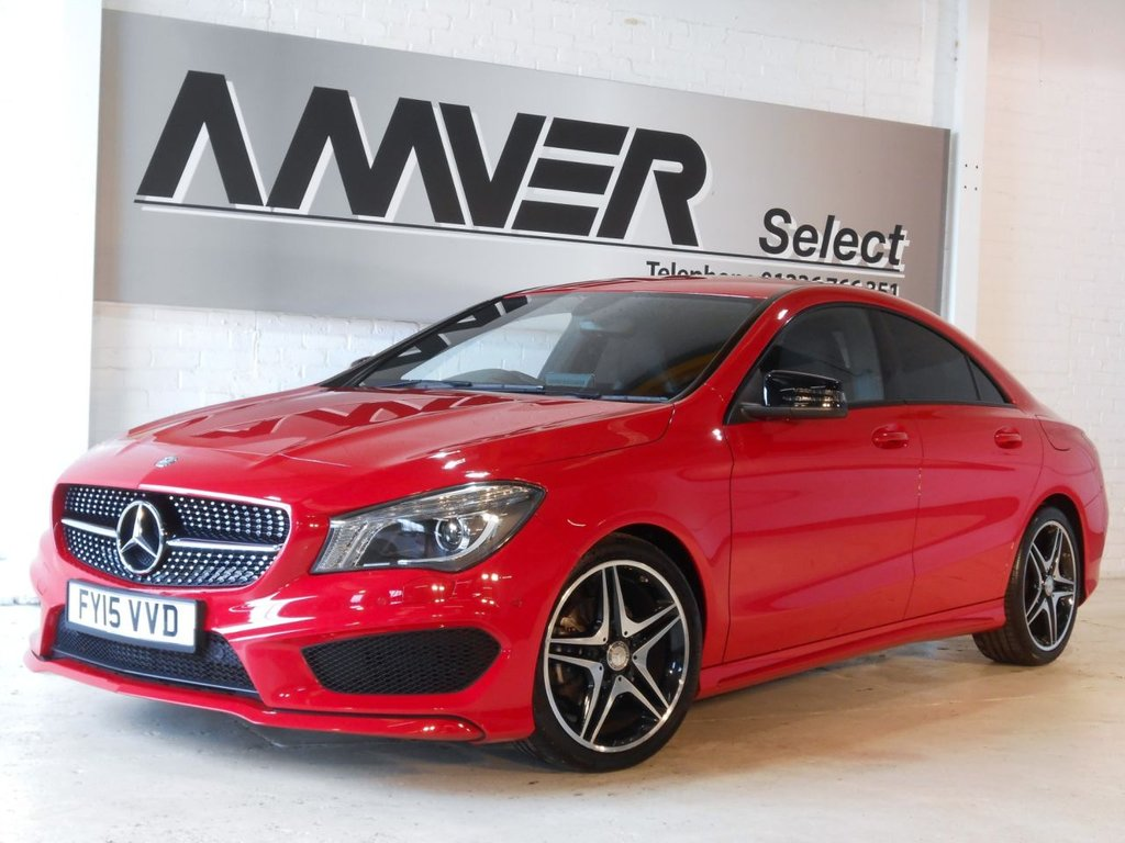 USED 2015 15 MERCEDES-BENZ CLA 1.6 CLA180 AMG SPORT 4d AUTO 122 BHP