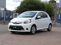 2013 TOYOTA AYGO 1.0 VVT-I MOVE WITH STYLE 5d  £4995.00