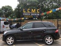 2013 MERCEDES-BENZ M CLASS 3.0 ML350 BLUETEC AMG SPORT 5d AUTO 258 BHP £19499.00