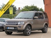 2015 LAND ROVER DISCOVERY 3.0 SDV6 HSE LUXURY 5d AUTO 255 BHP £29990.00