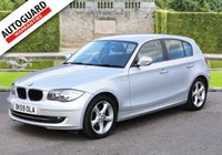 USED 2009 59 BMW 1 SERIES 2.0 118D SPORT 5d 141 BHP +++ FREE 6 months Autoguard Warranty included in screen price +++