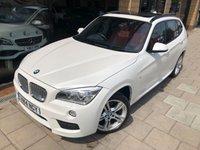 2014 BMW X1 2.0 SDRIVE18D M SPORT 5d AUTO 141 BHP £16000.00