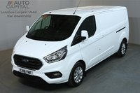 USED 2018 18 FORD TRANSIT CUSTOM 2.0 300 LIMITED L2 H1 AUTO MWB 129 BHP AIR CON ADAPTIVE CRUISE CONTROL