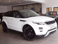 USED 2011 61 LAND ROVER RANGE ROVER EVOQUE 2.2 SD4 DYNAMIC 5d AUTO 190 BHP PAN ROOF+SAT NAV+MERIDIAN+FSH