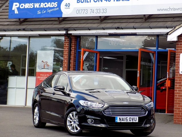 USED 2015 15 FORD MONDEO 2.0 TDCi ZETEC ECONETIC 5dr (150) ** Sat Nav + Only £20 Road Tax **