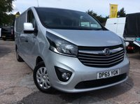 USED 2015 65 VAUXHALL VIVARO LWB 1.6 2900 L2H1 CDTI SPORTIVE 114 BHP 1 OWNER FSH MANUFACTURER'S WARRANTY BLUETOOTH ELECTRIC WINDOWS AND MIRRORS 6 SPEED SPARE KEY ECO DRIVE AIR CONDITIONING REAR PARKING SENSORS