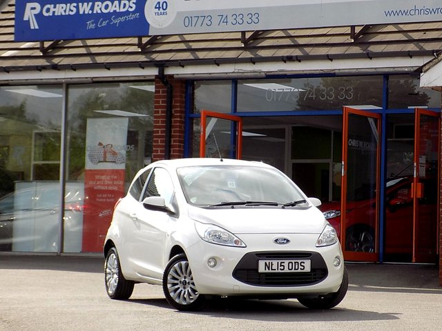 USED 2015 15 FORD KA 1.2 ZETEC 3dr  ** Low Tax + Insurance **
