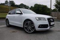 USED 2014 14 AUDI Q5 3.0 SQ5 TDI QUATTRO 5d AUTO 309 BHP BLACK PACK £6425 OPTIONS +++