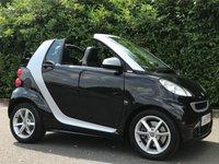 2011 SMART FORTWO CABRIO 1.0 PULSE MHD 2d AUTO 71 BHP £4850.00